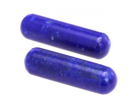 17.53cts Natural Lapis Lazuli Matching Round Cylinders