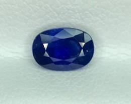 0.95 CT NATURAL BLUE SAPPHIRE HIGH QUALITY GEMSTONE S61
