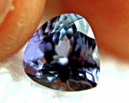 2.21 Carat VS1 African Tanzanite - Flashy and Beautiful