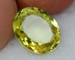 NR Lot 07 ~ 2.76Ct Natural VVS Greenish Yellow Sillimanite