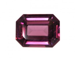 1.79cts Natural Rhodolite Garnet Emerald Cut