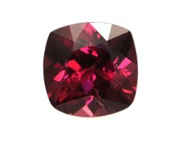 1.22cts Natural Rhodolite Garnet Cushion Cut