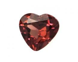 0.50cts Natural Rhodolite Garnet Heart Shape