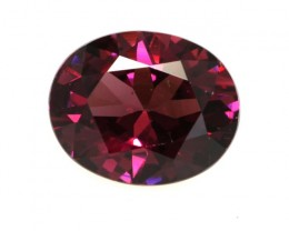 3.12cts Natural Rhodolite Garnet Oval Cut