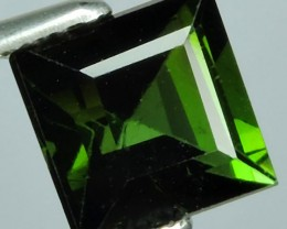 1.10 Ct Outstanding Top Luster Octagon Green Tourmaline Unheated NR!!!