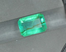 2.55ct Natural Zambia Emerald S1370