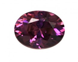 1.84cts Natural Rhodolite Garnet Oval Cut