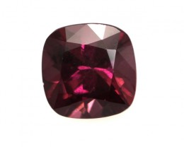 1.23cts Natural Rhodolite Garnet Cushion Cut