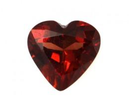 1.21cts Natural Rhodolite Garnet Heart Shape
