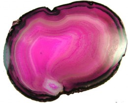 COLOURFUL AGATE SLICE 82 GRAMS   [MX789]