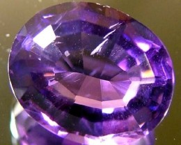 3.40 CTS AMETHYST NATURAL FACETED STONE  FN 3065 (L0-GR)
