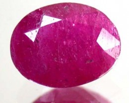 FREE SHIP HIGH GRADE SELECTED RUBY 2.50 CTS GW 831