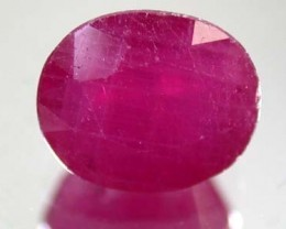 FREE SHIPPING HIGH GRADE SELECTED RUBY 3.80 CTS GW 842