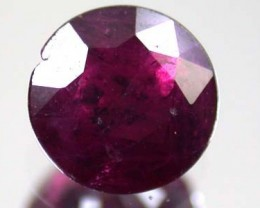 FREE SHIPPING HIGH GRADE SELECTED RUBY 0.80 CTS GW 727