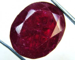 FREE SHIP LARGE AFRICAN RUBY STONE 32.4 CT GWE 84-1