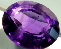 4.05CTS  AMETHYST NATURAL FACETED STONE TBG-2593