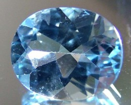 BLUE TOPAZ  NATURAL STONE FACETED 4.25 CTS FN 3215 (TBG-GR)