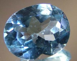BLUE TOPAZ  NATURAL STONE FACETED 4 CTS FN 3223 (TBG-GR)