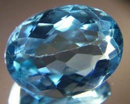6.95cts BLUE TOPAZ  NATURAL STONE FACETED  FN 3230 (TBG-GR)