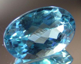 BLUE TOPAZ  NATURAL STONE FACETED  7.30 CTS FN 3234 (TBG-GR)