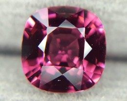 1.58Crt Natural Rhodolite Garnet Faceted Gemstone (R 76)