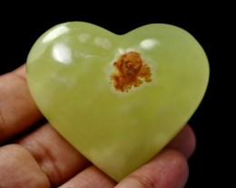 523 CT Natural Onyx Carvid Heart Stone Special Shape