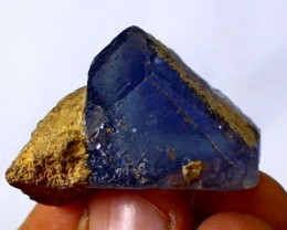 200 CT Natural - Unheated Blue  Flourite Crystal Specimen
