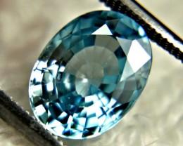 3.68 Carat Blue Southeast Asian VS Zircon - Beautiful