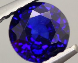 1.10Ct Natural Royal Blue Sapphire Round Cut