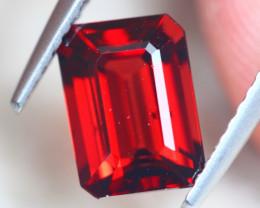 2.23Ct Natural Almandine Garnet Octagon Cut Lot D526