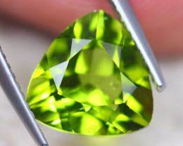 3.57Ct Natural Green Peridot Trillion Cut Lot D511