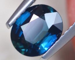 0.99ct Natural Blue Sapphire Oval Cut Lot D524