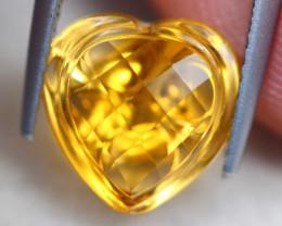 3.07ct Natural Yellow Citrine Fancy Cut Lot D531