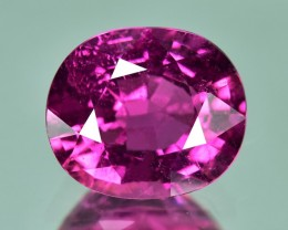 3.52 Cts Beautiful Lustrous Natural Hot Pinkish Red Rubelite
