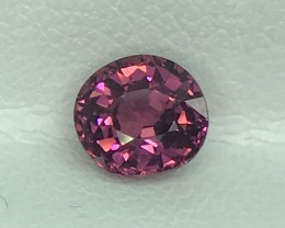 1.18 CT NATURAL RHODOLITE GARNET  HIGH QUALITY GEMSTONE S63