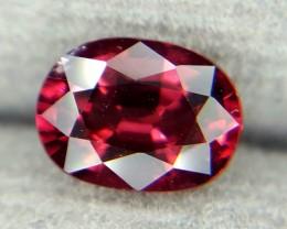 1.15Crt Natural Rhodolite Garnet Faceted Gemstone (R 77)