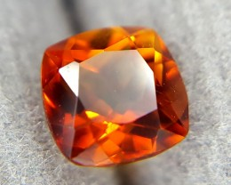 0.55Crt Natural Citrin Faceted Gemstone (R 77)