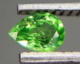0.20 Crt Natural Tsavorite Faceted Gemstone (M 77)