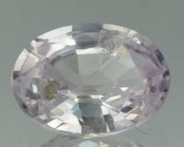 1.27 Cts Natural Corundum Light Pink Sapphire Oval
