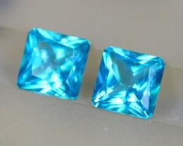 6.66Ct Natural Paraiba Greenish Blue Color Topaz