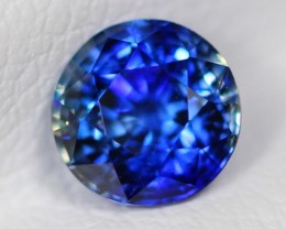1.07Ct Certified Natural VVS Vivid Blue Color Ceylon Sapphire