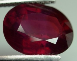 Top Quality Blood Red Ruby Oval Cut 20.80 Cts Mozambique Gem