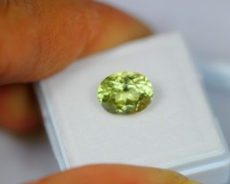 2.98ct Natural Sillimanite Oval Cut