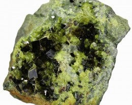 337.90 CTS EPIDOTE AND MAGNETITE SPECIMEN-PAKISTAN  [MGW5314]