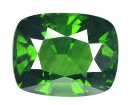 ~RARE~ 7.73 Cts Natural Parrot Green Zircon Cushion Sri Lanka