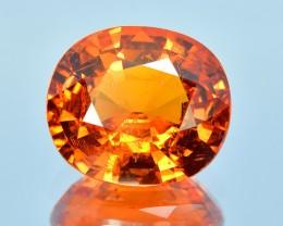 11.60 Cts Attractive Fanta Orange Natural Mozambique Spessartite Garnet