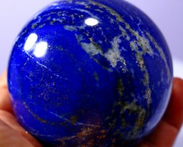 3440 CT Natural lapis lazuli Carvid Ball Stone Special Shape