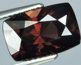 7.30 CTS EXTREME CUSHION  NATURAL RARE BROWN ZIRCON