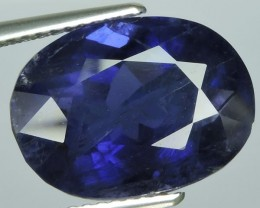 8.30Ct-Wonderful-Oval-Cut-14.50-x-10.70-mm-Tanzanite-Hue-100-Natural-Iolite