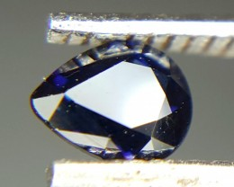 0.30 Crt Natural Sapphire Faceted Gemstone (M 78)